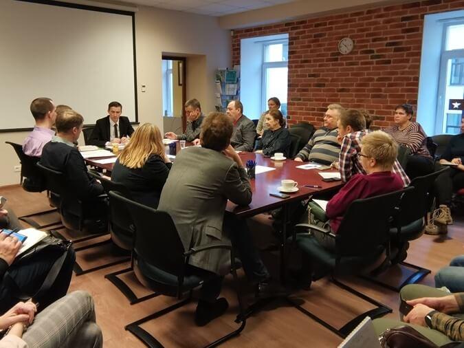 Врио руководителя Управления Росаккредитации по СЗФО принял участие во встречах, посвященных процедуре самостоятельного декларирования продукции